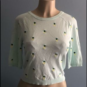 Divided mint green pineapple top size M